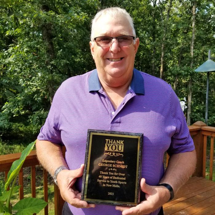 George Schmidt with award.jpg