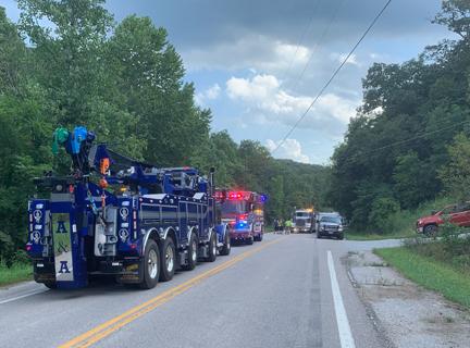 2. Truck accident wrecker 2 web crash wrecker on scene IMG_0493.jpg