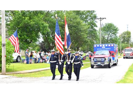 21. Leading off honor guard NM Parade 2019 7.jpg