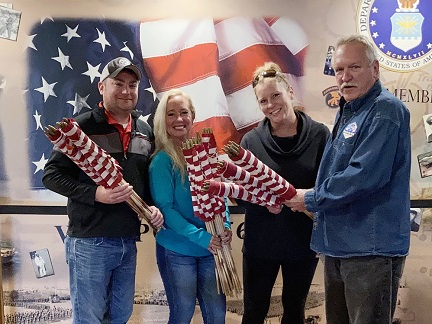 VFW donating flags for art event cropped IMG_1702.jpg