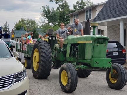 7. Parade Gerdiman tractor pulling 4-H wagon web.jpg