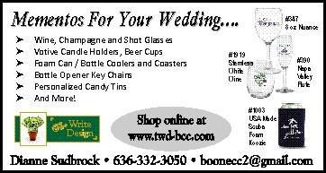 The Write Design Mementos For Your Wedding
